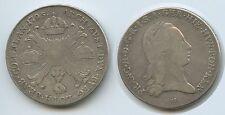 GB1267 - RDR Österr.Niederlande 1 Kronentaler 1795 H Günzburg Franz II.1792-1835