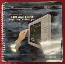 Tektronix 11401 And 11402 Digitizing Oscilloscopes