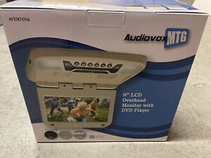 AUDIOVOX MTG AVXMTG9A 9IN. LCD OVERHEAD MONITOR DVD MP3 PLAYER USB/SD