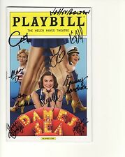 DAMES AT SEA HAND SIGNED NYC PLAYBILL+COA      AWESOME     SIGNED BY CAST
