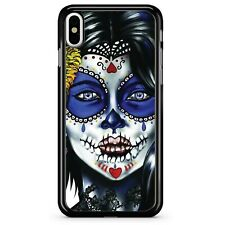 Sugar Skull Day Of The Dead girl phone case for iPhone Samsung case