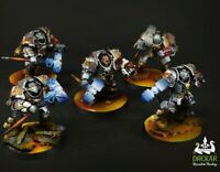 Grey Knights Inferno Terminators warhammer 40K ** COMMISSION ** painting