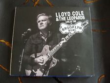 Slip Double: LLoyd Cole & The Leopards : Live At The Brooklyn Bowl  2016 2 CDs