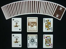 Brown Wynn Casino BEE Playing Cards UNCANCELLED - OHIO (RED SEAL) SEALED