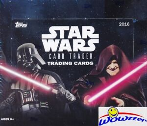 2016 Topps Star Wars Card Trader HUGE Factory Sealed 24 Pack HOBBY Box-Loaded!