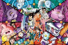 Innex Dragon Ball Z Super Art Crystal Defend The Earth Jigsaw Puzzle