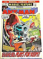MARVEL FEATURE#5 VG/FN 1972 ANT-MAN BRONZE AGE COMICS