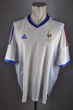 Francia camiseta talla XL adidas 2002 Jersey em away france WM camisa fff mailot