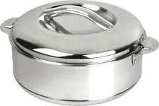 LARGE XXL STAINLESS STEEL Round Heat Insulated Food Storage HotPot