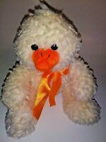 "Animal Adventure Chick Wearing A Bow  12"" Plush Stuffed Animal"