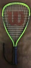 Wilson Hyper Alloy Xpress Crushing Power Racquetball Racquet New Grip Xs 3 7/8