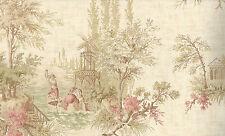 Fine Decor, Multicolour, Vintage Toile Wallpaper