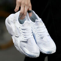 Men Breathable Classic Sneakers Outdoors Running Trainers Lace up Athletic Shoes
