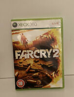 Far Cry 2 (Microsoft Xbox 360, 2008) TESTED AND WORKING