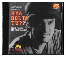 Music Hindi Karaoke CD Bollywood Songs Kya Bolti Tu? Aniruddh LIMITED EDITION