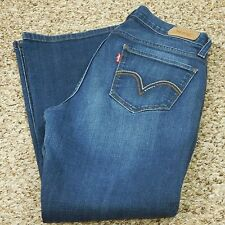 Levi's 529 Jeans Women's Curvy Boot 6 S/C (Measures 28 x 28) Short Inseam