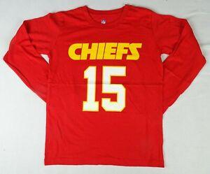 Kansas City Chiefs #15 'Patrick Mahomes' NFL Apparel Boys T-Shirt