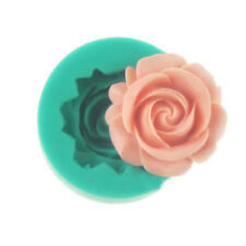New 1PC 3D Rose Flower DIY Cake Chocolate Soap Molds Silicone Tools Mould Small