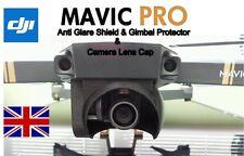 DJI MAVIC PRO - Sun Glare Shield, Lens Hood, Gimbal Protector & Camera Lens Cap.