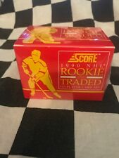 1990 Score NHL Rookie and Traded *Factory Sealed* 110 Player Card Set