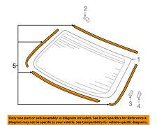 HONDA OEM 03-05 Accord Rear Window Glass-Seal Kit 04733SDA000