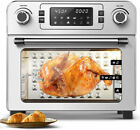 24 QT Air Fryer Oven 1900W Countertop Toaster Oven Rotisserie Bake Rack Included photo