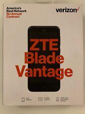 ZTE Blade Vantage 4G LTE Verizon Prepaid Smarphone New and Sealed