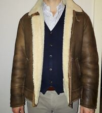 Montone Sherling - Vintage 80s - Man TG. 50 - Genuine Leather a414dd50b92