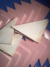 NOS Pink Triangle Vintage Ceramic Tile HTF 60s Restoration TA11
