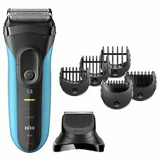 Braun 3-in-1 MEN'S FOIL SHAVER Shave & Style TRIMMER Wet Dry Electric Razor 3010