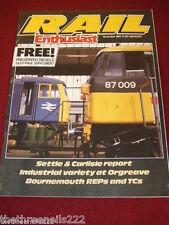 RAIL ENTHUSIAST #38 - SETTLE & CARLISLE - NOV 1984