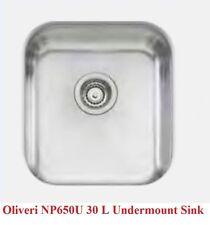 New ORP $462 Oliveri Nu-Petite Undermount Sink NP650U