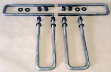 "[SR] Sierra Tundra Silverado 9/16"" Square U Bolts 2.5"" Wide Leaf Spring 12"" Long"