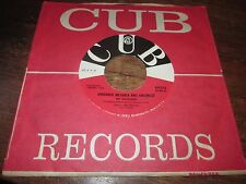 THE WANDERERS SHADRACH MESHACK AND ABEDNEGO RARE POPCORN 45 CUB NORTHERN SOUL