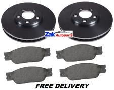 JAGUAR S-TYPE 2.5 3.0 4.0 1999-2004 FRONT BRAKE DISCS AND PADS SET (300MM) *NEW*