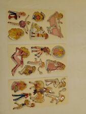 Vintage Barbie Stickers, 1984, Mattel