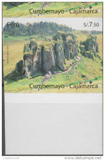 O) 2009 Peru, Error Imperforate, Cumbemayo-Archeology Site, Cajamarca, Mnh