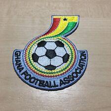Emblem Ghana Logo Patch Badge Aufbügler Aufnäher Africa Unity Black Stars