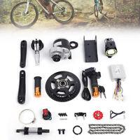 Electric Bicycle Motor Conversion Mid-Drive Kit e Bike 350W 36V Refit DIY e-Bike