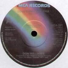 "[ROGER COOK] DON WILLIAMS ~ LOVE'S ENDLESS WAR ~ 1979 UK ""PROMO"" 7"" SINGLE"