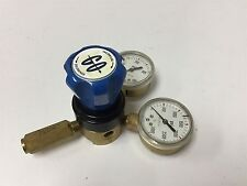 """Gas Regulator With 20-400psi and 100-3000psi Gauges, Ports: 1/4"""" NPT, 0-250psi"""