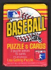 1985 DONRUSS BASEBALL GUARANTEED UNOPENED SINGLE WAX PACK ( 15 Cards )