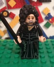 Lego  HARRY POTTER BELLATRIX  LESTRANGE minifigure 4840 The Burrow with wand
