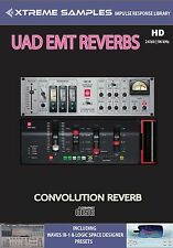 XTREME samples UAD EMT Reverbs HD Reverb impulsi response Library