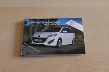 103098) Mazda 5 1.6 L MZ-CD Pressemappe 2011