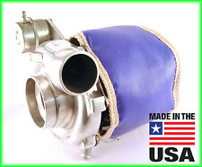 ATP HKS Garrett GT3076 GT30R GT3037 Turbo Blanket Heat Shield Blue USA MADE