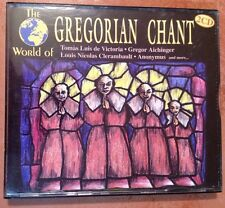 ☀️ The World of Gregorian Chant Set of 2-CDs Music Church Mass Christmas Germany