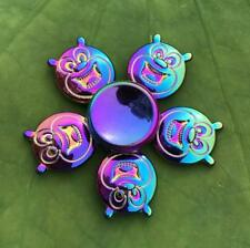 Rainbow bear Hand Spinner Metal Fidget Kids Stress Relieve Finger Toys Gift