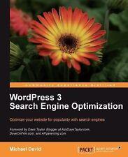 WordPress 3 Search Engine Optimization by Michael David (2011, Paperback, New...