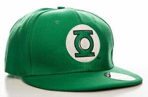 Officially Licensed Green Lantern Logo Adjustable Size Snapback Cap